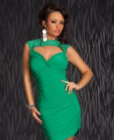 Rochie Special Vibes Green