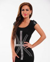 Mexton London Black Dress
