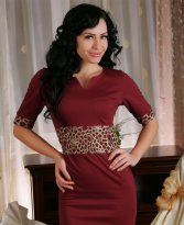Rochie Sophisticated Burgundy