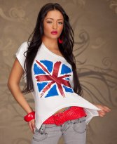 Bluza London Look White