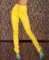 Jeans Hypnotic Time Yellow