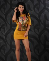 Rochie London Avenue Yellow