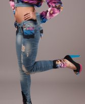 Jeans Ocassion Silky Blush Blue