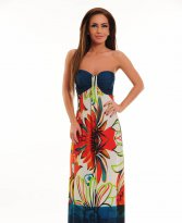 Haine. Rochie Playful Flower Orange