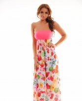 Mexton Delicious Fruit Pink Dress
