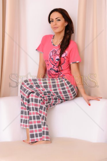 Pijama Lovely Girl Coral