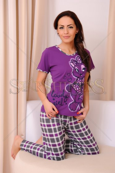 Pijama Lovely Girl Purple
