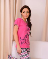 Lovely Girl Pink Pajamas
