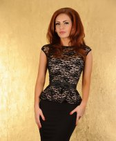 Rochie Fofy Royal Look Black