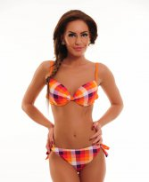 Haine. Costum De Baie Summer Square Orange