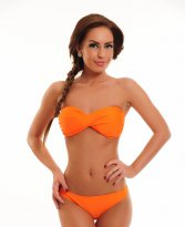 Beach Sensation Orange Swimsuit