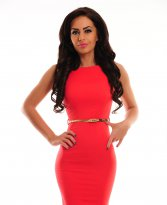 PrettyGirl Famous Glam Red Dress