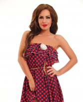 Haine. Rochie LaDonna Summer Motion Red
