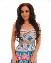 Haine. Rochie Fofy Sunny Days Turquoise