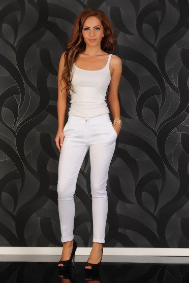 Pantaloni LaDonna Rich Style White
