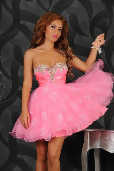 Rochie Sherri Hill 21074 Pink
