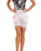 Mexton Small Cut White Short