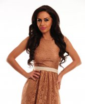 PrettyGirl Imperial Brown Dress