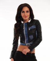 Mexton Trendy Twist Black Jacket