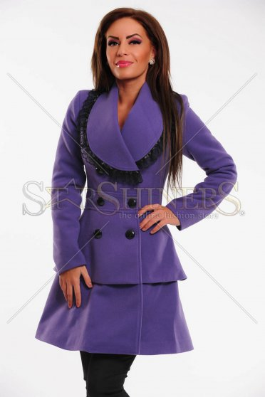 Palton LaDonna Fancy Piece Purple