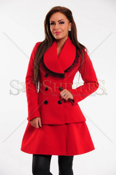 Palton LaDonna Fancy Piece Red