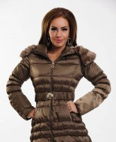 Haine. Geaca Eternal Fur Brown
