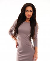 Haine. Rochie Fofy Dust Reveal Nude