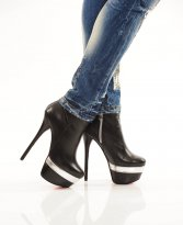 Haine. Botine Mexton High Allure Black