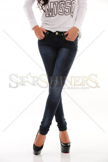 Jeans Missq Happy Fit Darkblue