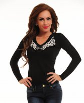 Haine. Bluza MissQ Magic Wings Black