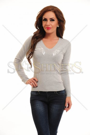 Poza Bluza MissQ Magic Wings Grey