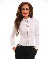 LaDonna Soft Chic White Shirt