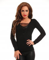 Haine. Bluza Elite Pearls Black