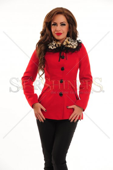 Palton LaDonna Leo Collar Red