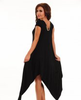 Haine. Rochie Fofy Gold Brilliance Black