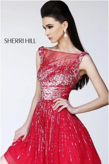 Rochie Sherri Hill 8519 Red