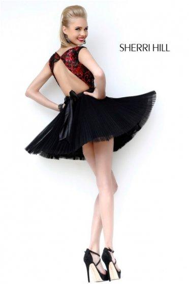 Rochie Sherri Hill 21167 Black