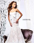Sherri Hill 21010 White Dress