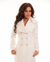 LaDonna Russian Beauty White Coat