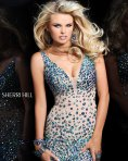 Sherri Hill Fabulous Princess Green Dress