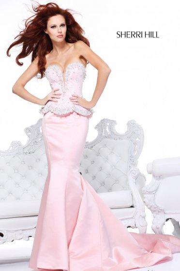 Rochie Sherri Hill 21034 Pink