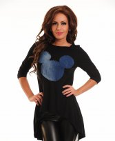Haine. Bluza Ocassion Mickey Beauty Black