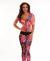 Ocassion Floral Look Black Jumpsuit