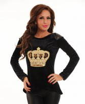 Haine. Bluza LaDonna Dancing Queen Black