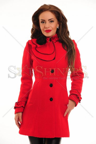 Palton LaDonna Rose Collar Red