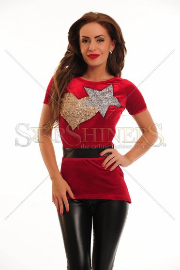 Bluza LaDonna Star Love Red
