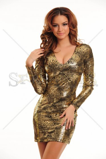 Rochie PrettyGirl Heavenly Gold