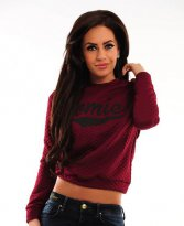 Perfect Cloud Burgundy Sweater