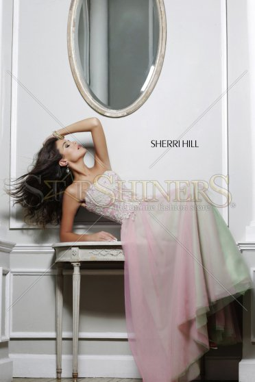 Rochie Sherri Hill 11135 Pink