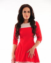 Haine. Rochie LaDonna Magical Wish Red